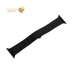 Ремешок блочный-полоса из нержавеющей стали COTEetCI W25 застежка бабочка (WH5237-BK) для Apple Watch 40 мм/ 38 мм Черный
