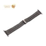 Ремешок блочный-цепочка из нержавеющей стали COTEetCI W27 застежка бабочка (WH5241-TS) для Apple Watch 40 мм/ 38 мм Серебристый