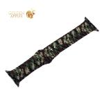 Ремешок силиконовый COTEetCI W45 Color (WH5279-CL) для Apple Watch 44 мм/ 42 мм Army camouflage Армейский камуфляж