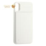 Аккумулятор-чехол внешний Baseus 1+1 Wireless Charge Backpack 5000 mAh (ACAPIPHX-ABJO2) для iPhone XS/ X (5.8) Белый