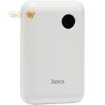 Аккумулятор внешний универсальный Hoco J44-10000 mAh PD+QC3 Mobile Power Bank (USB: 3.6-6.5V/3.0A) White Белый