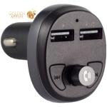 Разделитель автомобильный Hoco E41 c FM-трансмитером IN-Car Audio Wireless FM Transmitter Charger (2USB: 5V/2.1A Max) Черный