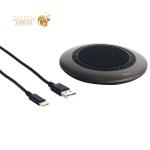 Беспроводное зарядное устройство Baseus Wireless Charging With A Fan (CCALL-XU01) Графитовый