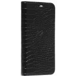 Чехол-книжка кожаный Peacocktion Crocodile Genuine Leather для iPhone 11 Pro (5.8) 2019 г. (SH2OIPXIBLK) Черный