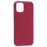 Накладка кожаная Santa Barbara Polo&Racquet Club Ravel Series для iPhone 11 Pro (5.8) Красная