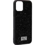 Чехол-накладка силиконовая со стразами SWAROVSKI Crystalline для iPhone 11 Pro (5.8) Черный №6