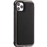 Чехол-накладка противоударный X-DORIA Defense Lux (370400512004) карбон для Iphone 11 Pro Max (6.5) Черный