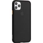 Чехол-накладка пластиковый KeepHone Armor Series для iPhone 11 Pro Max (6.5) с силиконовыми бортами Черный