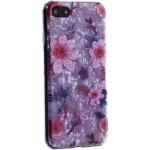 Чехол-накладка пластиковый Fashion Case для iPhone 7 (4.7) с силиконовыми бортами Розовый вид №4