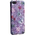 Чехол-накладка пластиковый Fashion Case для iPhone 7 (4.7) с силиконовыми бортами Розовый вид №5
