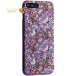 Чехол-накладка пластиковый Fashion Case для iPhone 7 Plus (5.5) с силиконовыми бортами Розовый вид №1