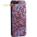 Чехол-накладка пластиковый Fashion Case для iPhone 7 Plus (5.5) с силиконовыми бортами Розовый вид №2