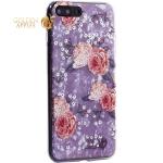 Чехол-накладка пластиковый Fashion Case для iPhone 7 Plus (5.5) с силиконовыми бортами Розовый вид №3