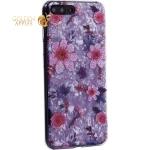 Чехол-накладка пластиковый Fashion Case для iPhone 8 Plus (5.5) с силиконовыми бортами Розовый вид №4