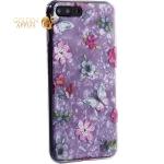 Чехол-накладка пластиковый Fashion Case для iPhone 7 Plus (5.5) с силиконовыми бортами Розовый вид №5