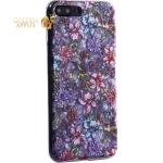 Чехол-накладка пластиковый Fashion Case для iPhone 7 Plus (5.5) с силиконовыми бортами Розовый вид №6