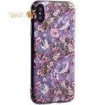 Чехол-накладка пластиковый Fashion Case для iPhone XS (5.8) с силиконовыми бортами Розовый вид №1