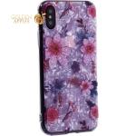 Чехол-накладка пластиковый Fashion Case для iPhone XS (5.8) с силиконовыми бортами Розовый вид №4