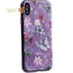 Чехол-накладка пластиковый Fashion Case для iPhone XS (5.8) с силиконовыми бортами Розовый вид №5
