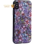 Чехол-накладка пластиковый Fashion Case для iPhone XS (5.8) с силиконовыми бортами Розовый вид №6