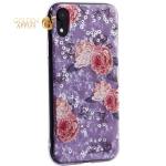 Чехол-накладка пластиковый Fashion Case для iPhone XR (6.1) с силиконовыми бортами Розовый вид №3
