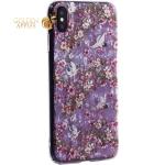 Чехол-накладка пластиковый Fashion Case для iPhone XS Max (6.5) с силиконовыми бортами Розовый вид №1