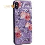 Чехол-накладка пластиковый Fashion Case для iPhone XS Max (6.5) с силиконовыми бортами Розовый вид №3