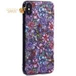 Чехол-накладка пластиковый Fashion Case для iPhone XS Max (6.5) с силиконовыми бортами Розовый вид №6