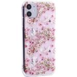 Чехол-накладка пластиковый Fashion Case для iPhone 11 (6.1) с силиконовыми бортами Розовый вид №1