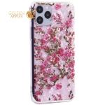 Чехол-накладка пластиковый Fashion Case для iPhone 11 Pro (5.8) с силиконовыми бортами Розовый вид №2