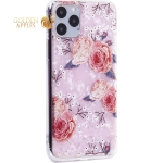 Чехол-накладка пластиковый Fashion Case для iPhone 11 Pro (5.8) с силиконовыми бортами Розовый вид №3