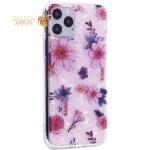 Чехол-накладка пластиковый Fashion Case для iPhone 11 Pro (5.8) с силиконовыми бортами Розовый вид №4
