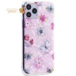 Чехол-накладка пластиковый Fashion Case для iPhone 11 Pro (5.8) с силиконовыми бортами Розовый вид №5