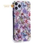 Чехол-накладка пластиковый Fashion Case для iPhone 11 Pro (5.8) с силиконовыми бортами Розовый вид №6