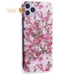 Чехол-накладка пластиковый Fashion Case для iPhone 11 Pro Max (6.5) с силиконовыми бортами Розовый вид №2