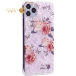 Чехол-накладка пластиковый Fashion Case для iPhone 11 Pro Max (6.5) с силиконовыми бортами Розовый вид №3