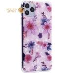Чехол-накладка пластиковый Fashion Case для iPhone 11 Pro Max (6.5) с силиконовыми бортами Розовый вид №4