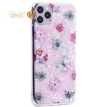 Чехол-накладка пластиковый Fashion Case для iPhone 11 Pro Max (6.5) с силиконовыми бортами Розовый вид №5