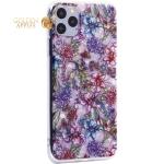 Чехол-накладка пластиковый Fashion Case для iPhone 11 Pro Max (6.5) с силиконовыми бортами Розовый вид №6