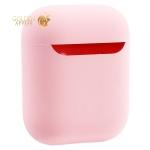Чехол силиконовый COTEetCI для AirPods 2 Liquid Silicone + PP Case (CS8136-PK) Розовый