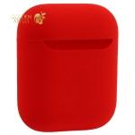 Чехол силиконовый COTEetCI для AirPods 2 Liquid Silicone + PP Case (CS8136-RD) Красный