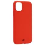 Чехол-накладка силикон Momax Silky & Soft Silicone Case для iPhone 11 (6.1) Оранжевый