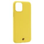 Чехол-накладка силикон Momax Silky & Soft Silicone Case для iPhone 11 Pro (5.8) Желтый