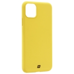 Чехол-накладка силикон Momax Silky & Soft Silicone Case для iPhone 11 Pro Max (6.5) Желтый