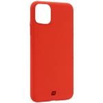 Чехол-накладка силикон Momax Silky & Soft Silicone Case для iPhone 11 Pro Max (6.5) Оранжевый