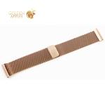 Ремешок из нержавеющей стали COTEetCI W20 MAGNET Band (WH5230-22-MRG) для Watch 22 мм Розовое золото