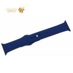 Ремешок спортивный COTEetCI W3 Sport Band (CS2085-MB) для Apple Watch 40 мм/ 38 мм Темно-синий
