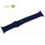Ремешок спортивный COTEetCI W3 Sport Band (CS2086-MB) для Apple Watch 44 мм/ 42 мм Темно-синий