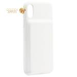 Аккумулятор-чехол внешний Baseus Liquid Silica Gel Power Bank Case 3300 mAh (ACAPIPH58-ABJO2) для iPhone XS/ X (5.8) Белый