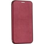 Чехол-книжка кожаный Fashion Case Slim-Fit для iPhone 11 (6.1) Бордовый